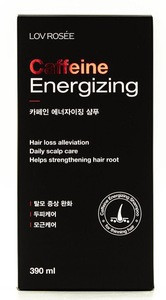 Hair loss prevention shampoo containing caffeine to help prevent hair loss from Korea