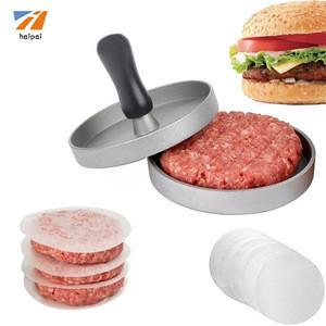 HAMBURGER PRESS Aluminium burger Press BBQ meat press
