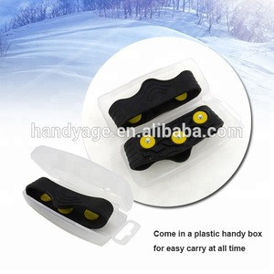 [Handy-Age]-Non-Slip Mini Ice Cleats / Snow Grips (OS3700-020)