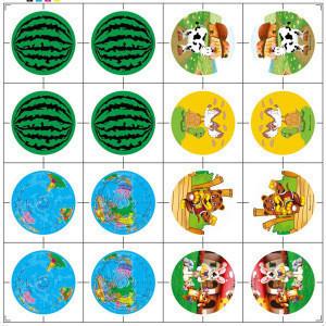 Heat Transfer Printing Film Cartoon Hot Film Adhesive Transparent PVC Film for PU Stress Ball Toy Balls