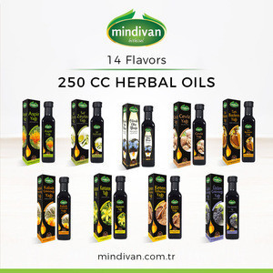 Herbal Oils 250 cc (14 flavors available)