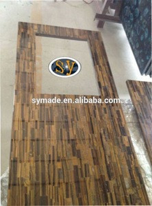 High quality natural snow white epoxy resin kitchen countertop