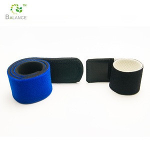 Hook loop magnetic wristbands for hold nails and screws while doing repair and construction projects