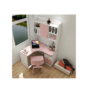 Modern Office Home Computer Ergonomic Children Table Kids Study Desk With Chair