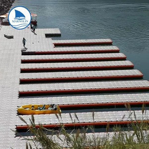 Modular floating for jetski dock and plastic floating pontoon bridge/dock floats/hdpe pontoon