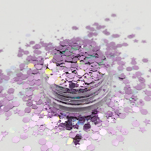 Non-Toxic Eco Friendly Solvent Resistant Chunky Glitter for Face Body Hair