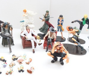Popular Japanese anime figures,From old anime to now airing