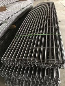 Reinforcing steel ribbed bar welded mesh for reducing the risk of cracks in concrete slabs