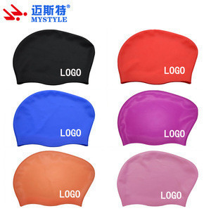 Silicone swim cap for adult and kids