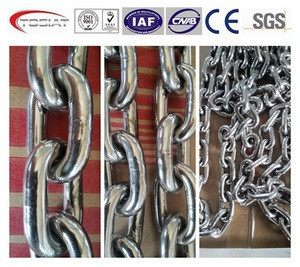 Stainless steel marine anchor chains,accessory parts of anchor chain