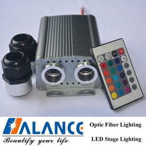 Tactile toys Fiber Optic Sensory Lighting Kit for Dark Sensory Play Den