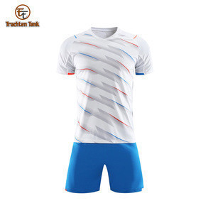 Top Quality Custom Sublimation Men's Short Sleeve Soccer Jersey, Sports Team Soccer Jersey For Men