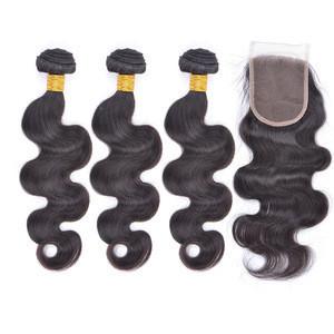 Unprocessed raw virgin brazilian human hair weave bundles body wave cuticle aligned hair
