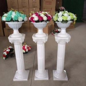 Wholesale Roman column plastic pillar flower arrangement