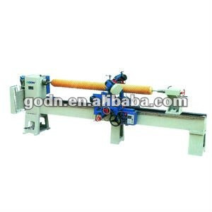Wood working machine-screw cutting lathe