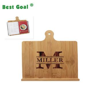 Wooden stand  Tablet Cookbook Holder