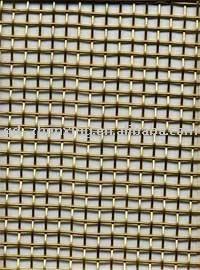 Woven copper wire mesh