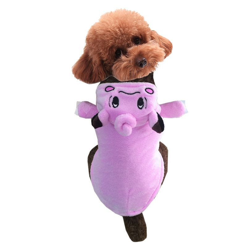 Small dog pet clothes pet pokemon costume pipi