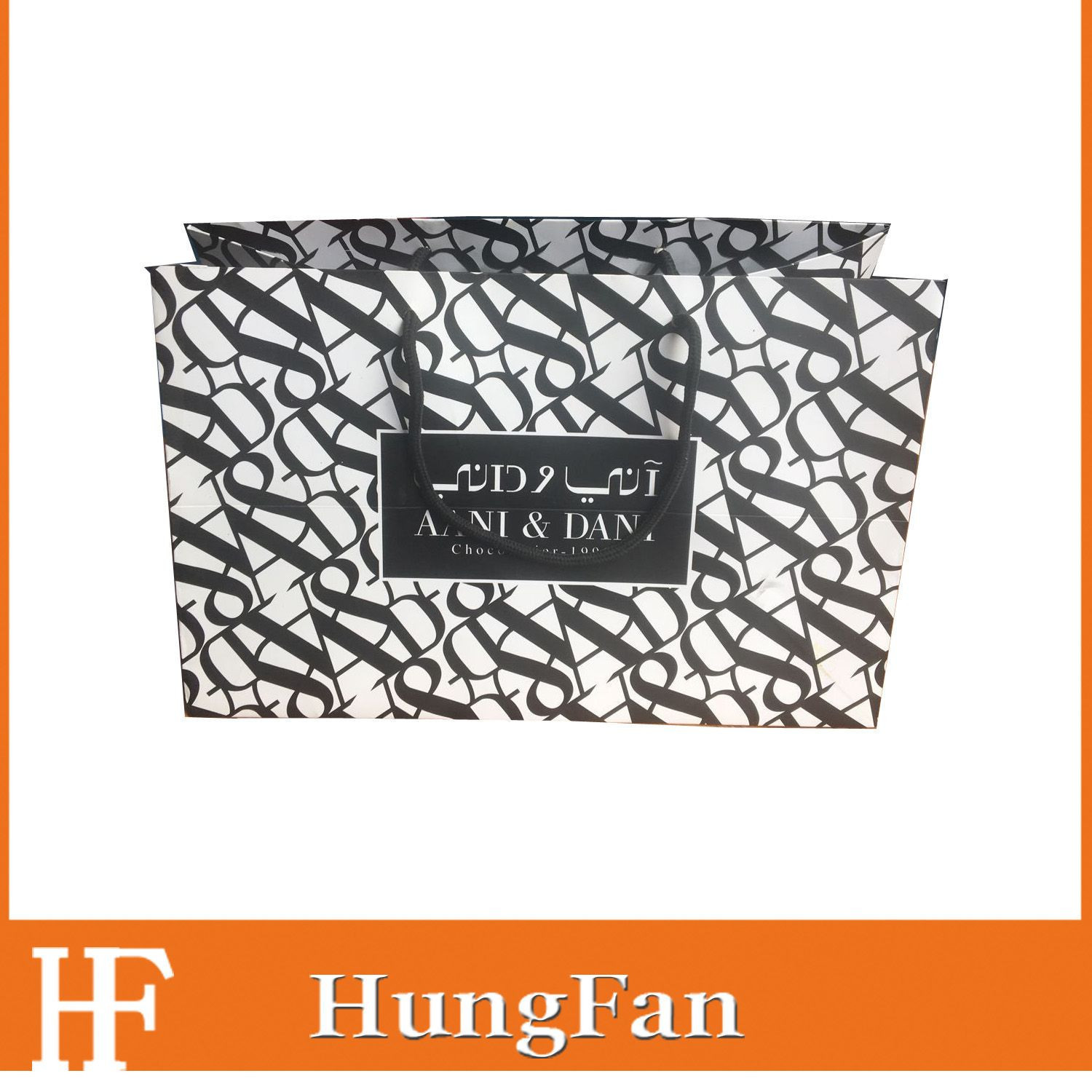 Import High Quality and Fashion Printing Packaging Gift Paper Bag from China