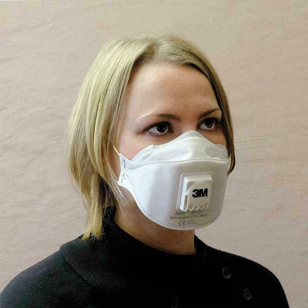 N95 respirator mask and  Hand Sanitizer