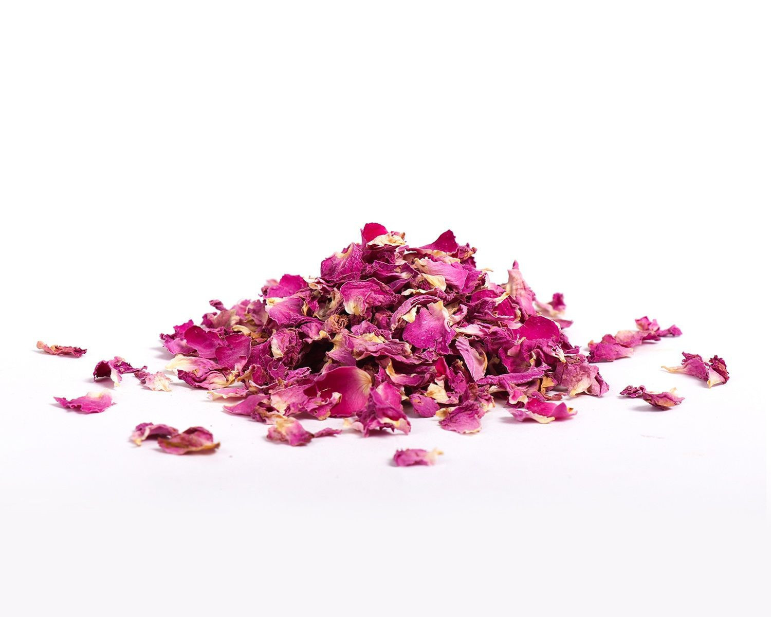 Organic and Conventional Rose Petals