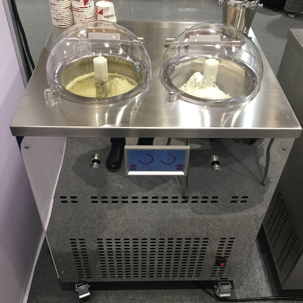 Miles Pro2 220V gelato machine ice cream maker