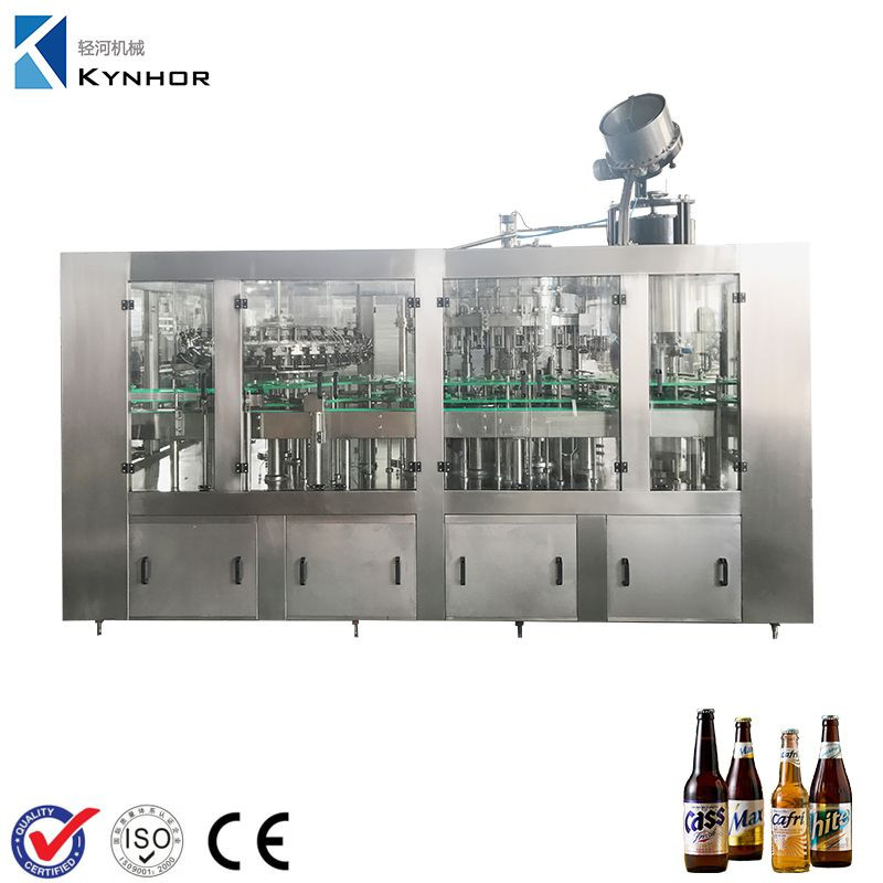 Small Scale Glass Bottle Beer Filling Machine