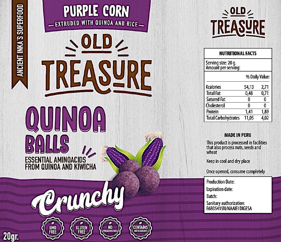 Quinoa Snack