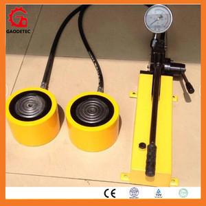 100ton hydraulic jacks with hand pump