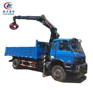3.2 ton Folding Arm Mobile Hydraulic Truck Crane