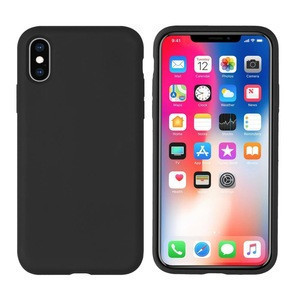 Case for iphone XR XS XS Max, ultra-thin  liquid silicone case shell protection cover phone accessory
