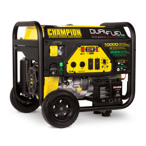 CHAMPION 7000W electric power wholesale home standby dual fuel gas LPG gasoline portable generator