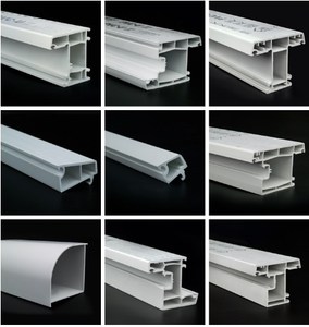 Chinese factory upvc profile for window/door upvc window profile