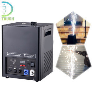 Cold Flame Fireworks With Titanium Powder Icy Sparklers Fountains Machine Used For Wedding Stage Wholesale Price