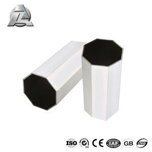Corrosion resistant anodized 4 inch extruded aluminum octagonal tubing