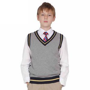 Custom Black School Sleeveless Sweater