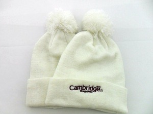 custom polyester embroidery beanie winter hat