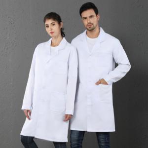 Customized Printing Hospital Pharmacy Clinic Uniforms Short/Long Sleeve Medical Wear Clothing