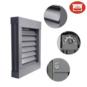 Customized ready made remote controlled outdoor Sun window Shutter