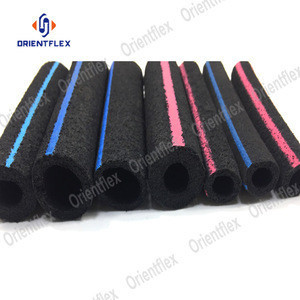 Durable micropore nano bubble diffuser aeration rubber hose tube for seafood farms/aquaculture