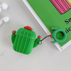 Earphone accessories silicone  fruits case for airpod