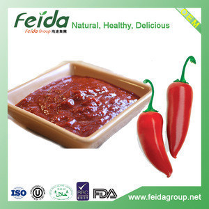 Factory wholesale Tabasco Red Jalapeno Pepper Puree
