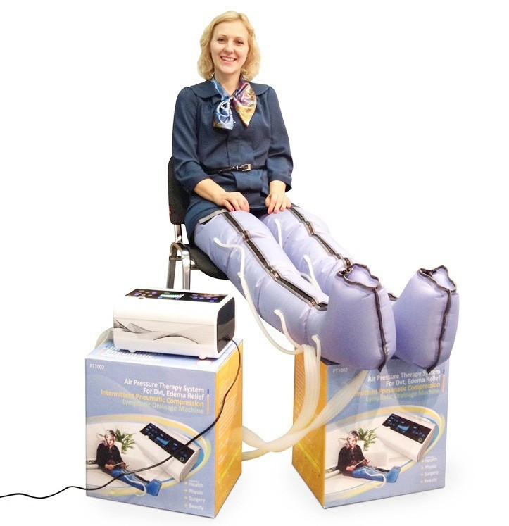 Health care physiotherapy device blood circulation exercise machine