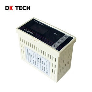 High quality 48x96mm Digital 1 Phase LED Display DC Multi-function Meter Dk61H8D Power Meter with RS485
