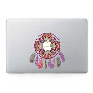 High quality accessories mac 2017 cool laptop stickers custom design computer skins with removable adhesive
