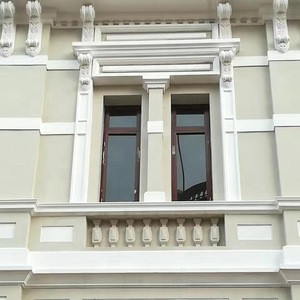 High Quality  Polystyrene Cornice Moulding For Window Frame Decoration