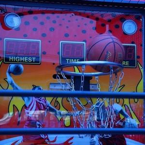 Hot selling luxury basketball shooting machine arcade adult game machine