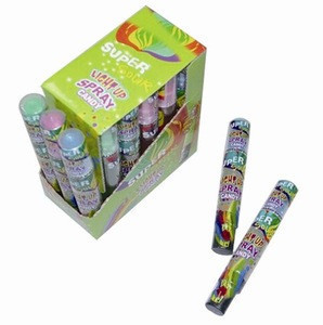 Light Up Spray Candy