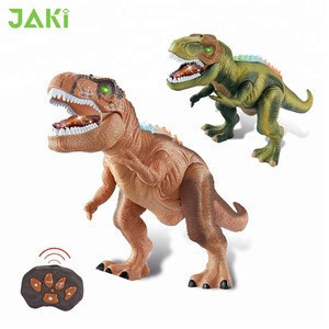 New pattern infrared remote control sound light moving walking with dinosaurs toys sale