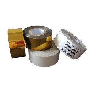 SCF-900 hot stamping coding jumbo roll used on snack food medical label film packaging machines to print date info